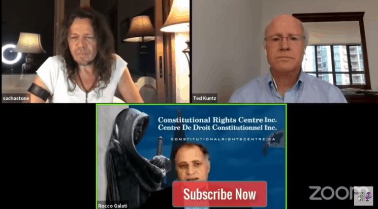 Sacha Stone With Ted Kuntz And Rocco Galati | Situation In Canada 2020