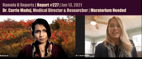 Dr. Carrie Madej: Reprogramming of Cells Without Informed Consent–Moratorium Needed