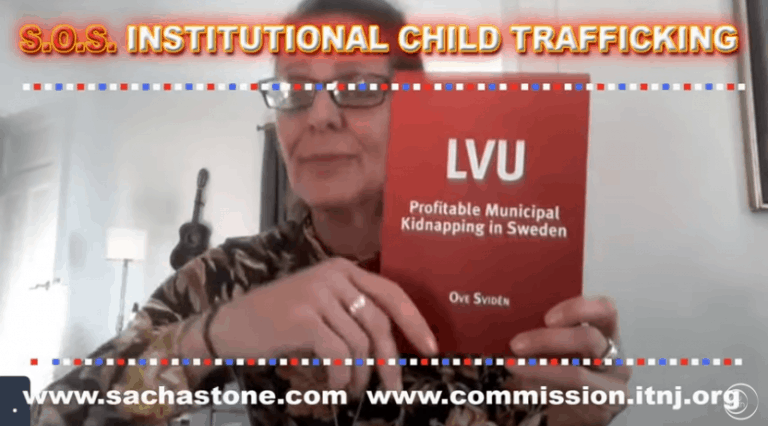 Surviving Institutional Child Trafficking w Sacha Stone