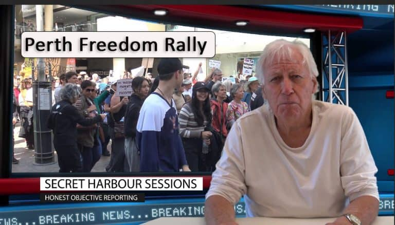 Perth Freedom Rally – September 2021