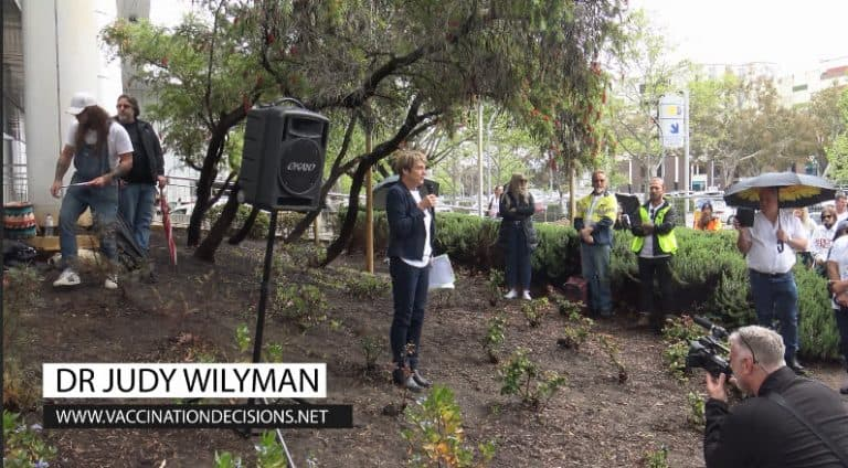 Reclaim the line. Dr Judy Wilyman.